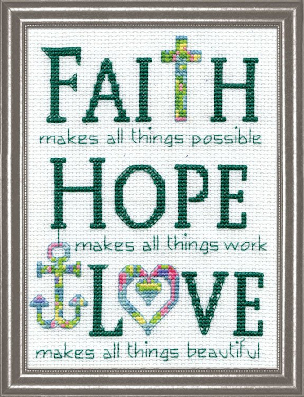 Design Works - Faith, Hope, Love