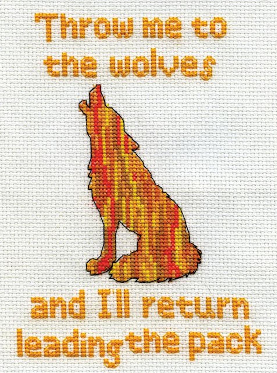 Design Works - Throw Me (Wolf)