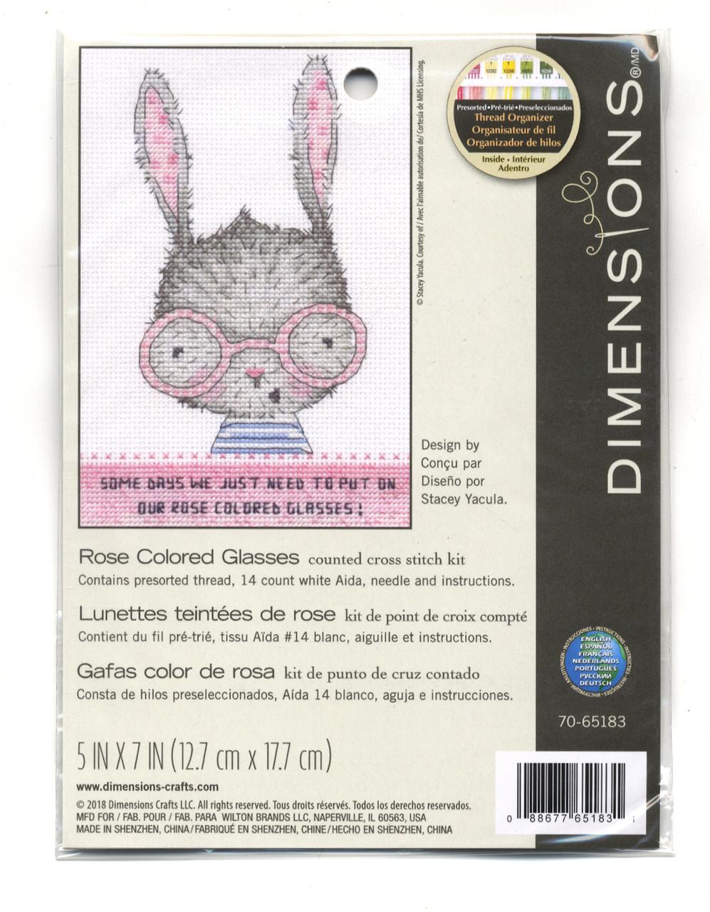 Dimensions - Rose Colored Glasses