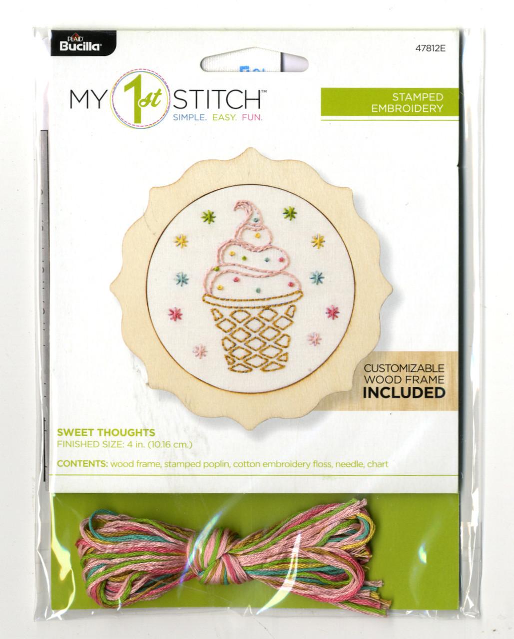 My 1st Stitch - Sweet Thoughts