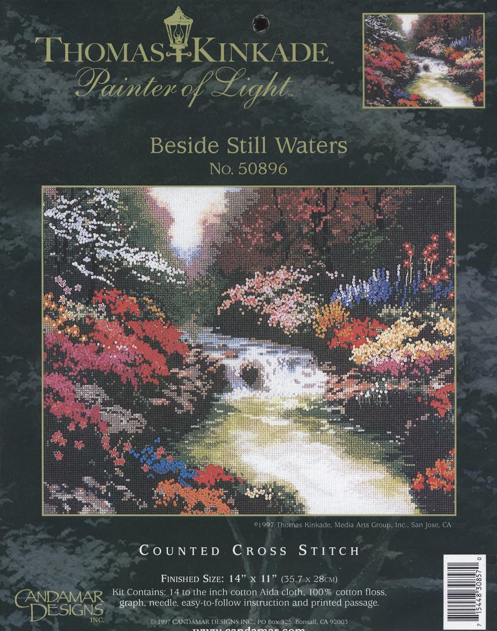 Candamar / Thomas Kinkade - Beside Still Waters