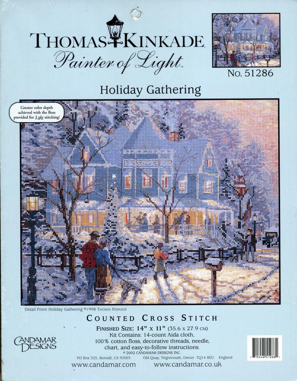 Candamar / Thomas Kinkade - Holiday Gathering