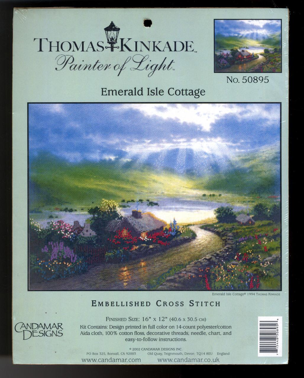 Candamar / T. Kinkade - Emerald Isle Cottage (EMBELLISHED)