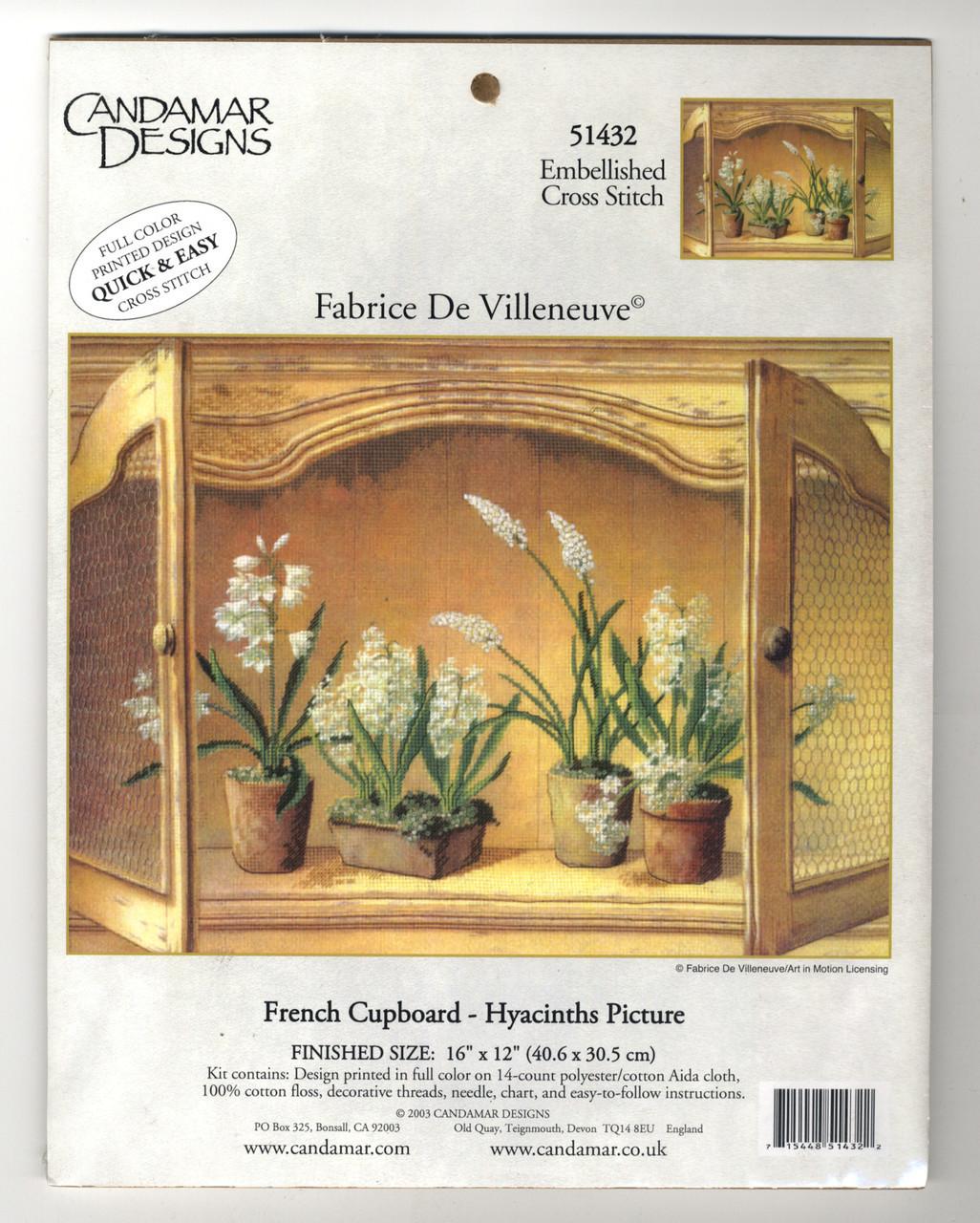 Candamar - French Cupboard - Hyacinths