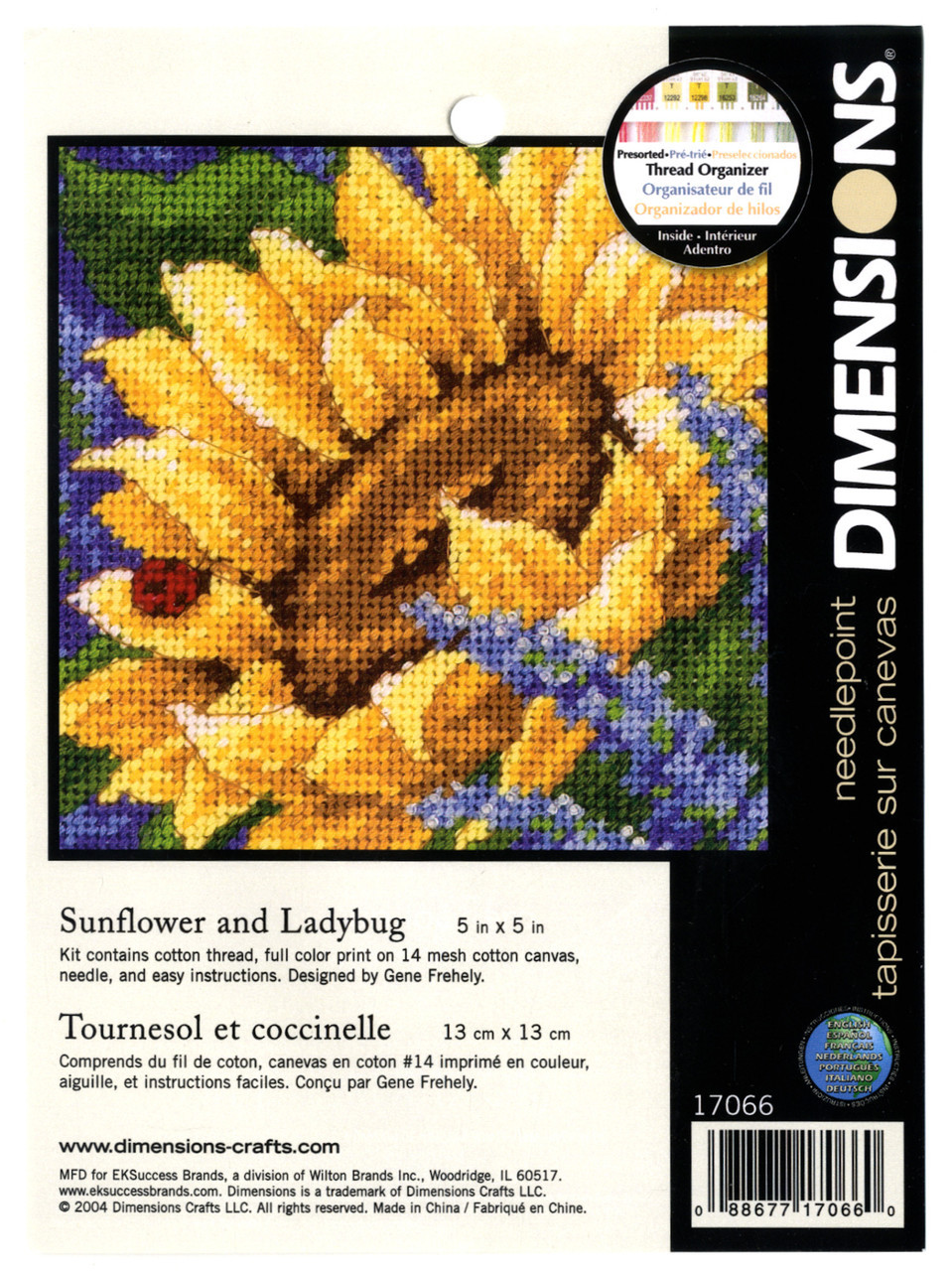 Dimensions Minis - Sunflower and Ladybug
