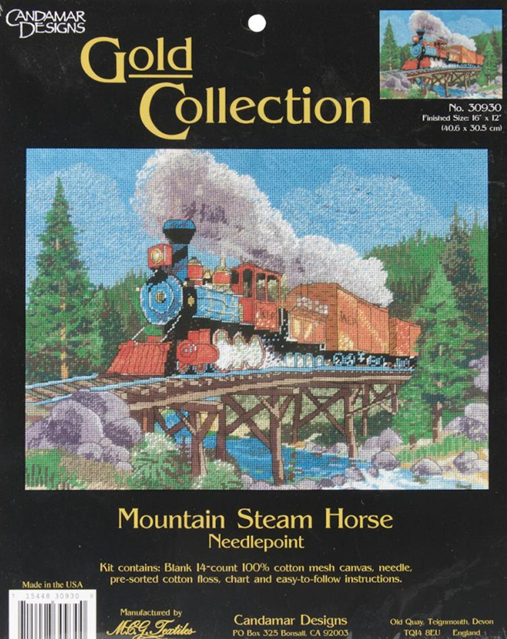 Candamar - Mountain Steam Horse