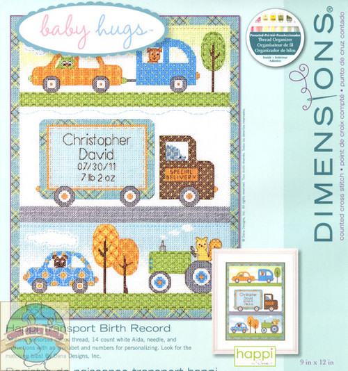 Baby Hugs - Happi Transport Birth Record