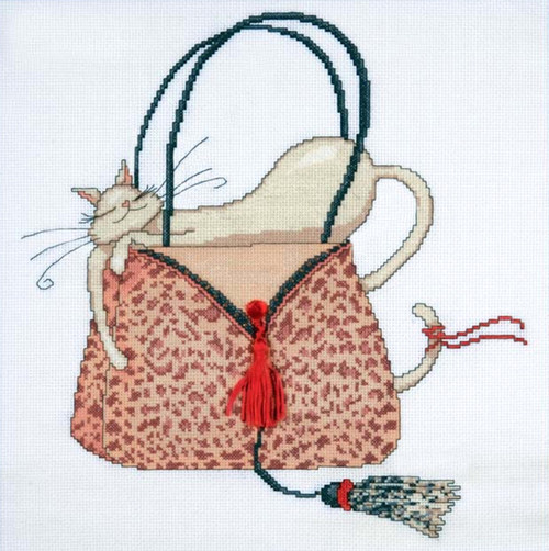 Design Works - Leopard Purse