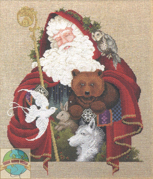 Lavender & Lace - Santa of the Forest