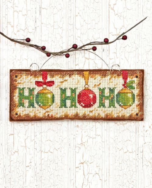 Dimensions - Ho Ho Ho Ornament