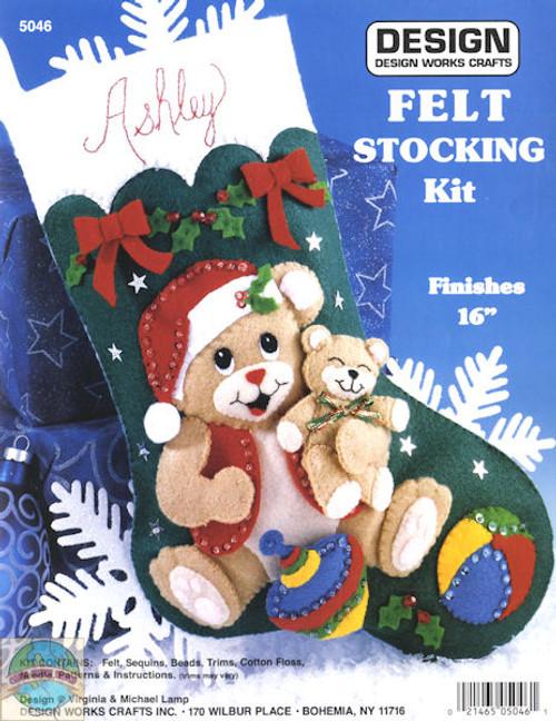 Design Works - Playful Bears Stocking