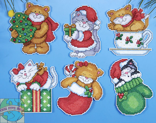Design Works - Kitten Ornaments (PC)