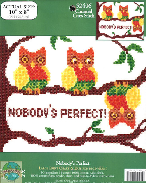 <font size=4>Candamar - Nobody's Perfect