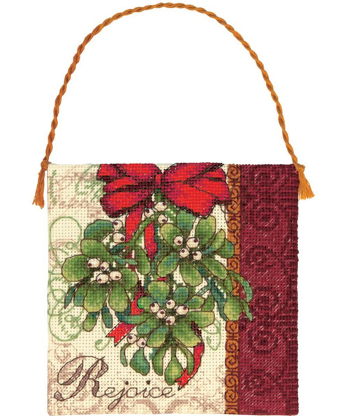 Gold Collection Petites - Mistletoe Ornament