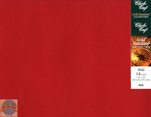 Charles Craft - 14 Ct Red 15 x 18 in