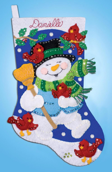 Design Works - Cardinals Stocking