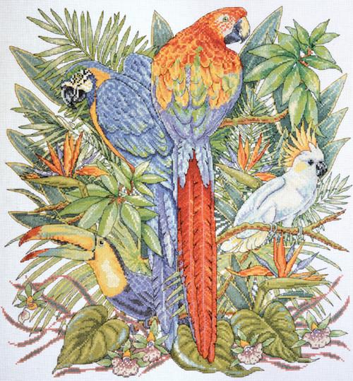 Design Works - Birds of Paradise