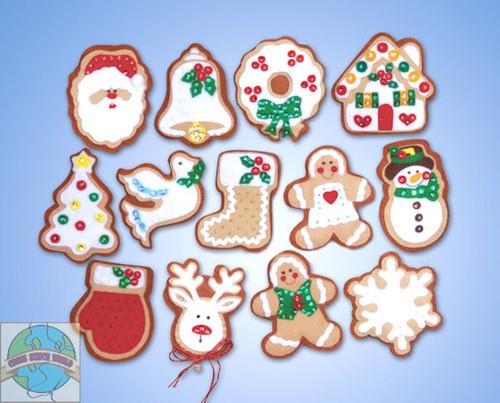 Design Works - 13 Gingerbread Men Ornaments