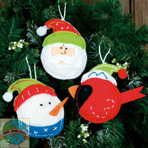 Dimensions - Holiday Trio Ornaments
