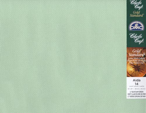 Charles Craft - 14 Ct LT Seafoam Green 15 x 18 in