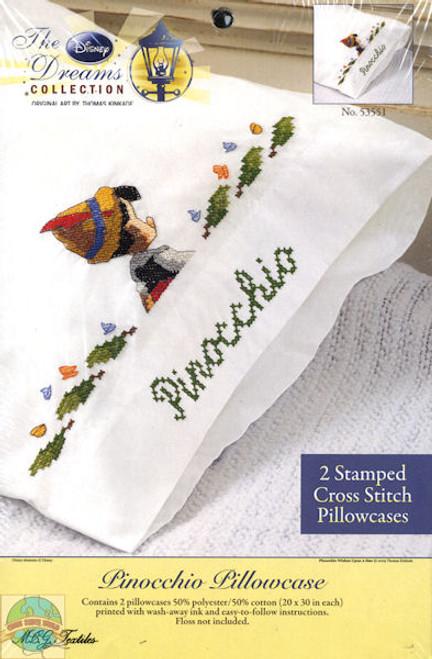 Kinkade / Disney Dreams - Pinocchio Pillowcase (2)