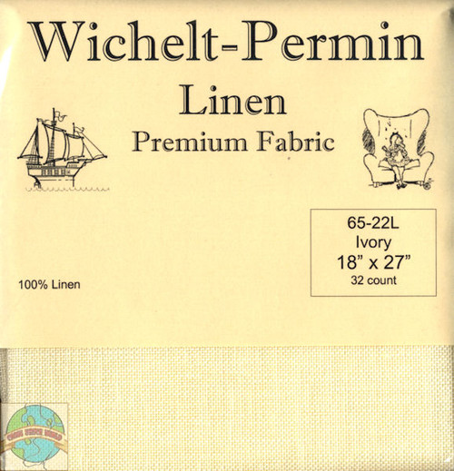 Wichelt - 32 Ct Ivory Linen 18 x 27 in