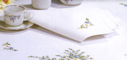Design Works - Forget Me Not Napkins (4)