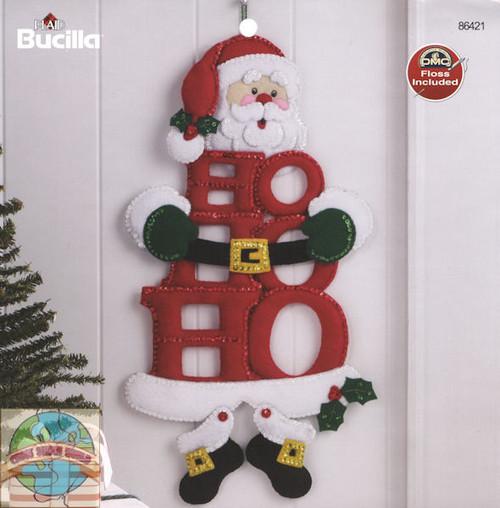 Plaid / Bucilla - Ho-Ho-Ho Santa Wall Hanging