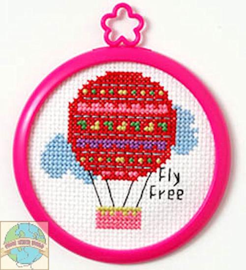 My 1st Stitch - Fly Free