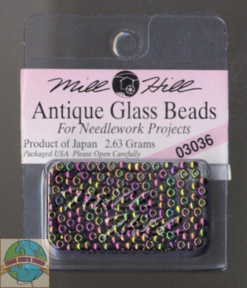 Mill Hill Antique Glass Beads 2.63g Cognac