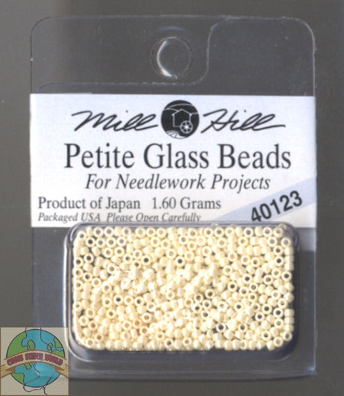 Mill Hill Petite Glass Beads 1.60g Cream