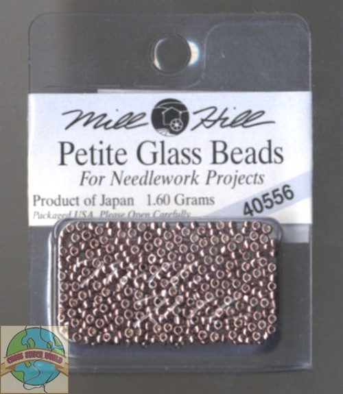 Mill Hill Petite Glass Beads 1.60g Antique Silver