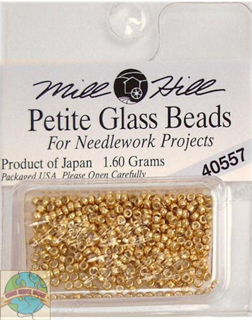 Mill Hill Petite Glass Beads 1.60g Gold