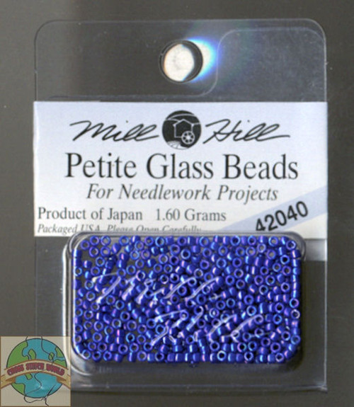 Mill Hill Petite Glass Beads 1.60g Periwinkle