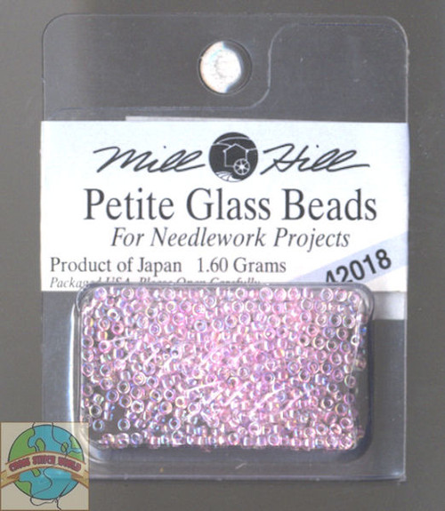 Mill Hill Petite Glass Beads 1.60g Crystal Pink