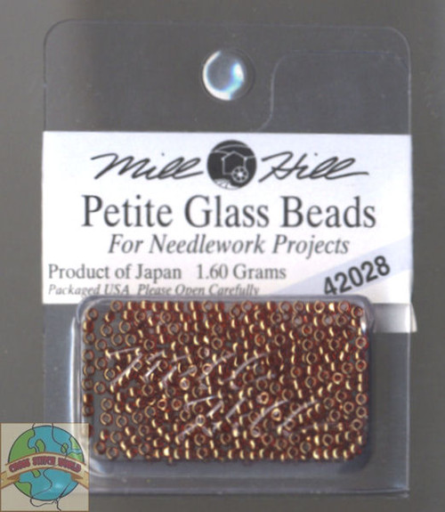 Mill Hill Petite Glass Beads 1.60g Ginger