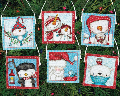 Dimensions - Frosty Friends Ornaments (6)