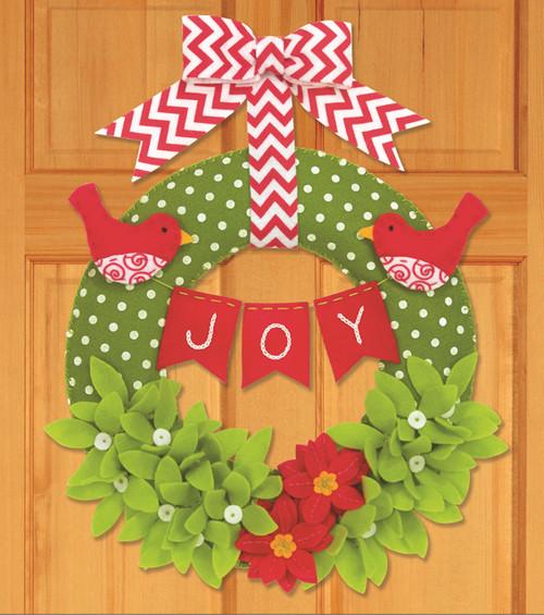 Dimensions - Joy Wreath