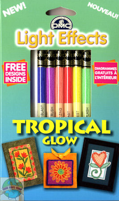 DMC - Light Effects Tropical Glow Floss Set