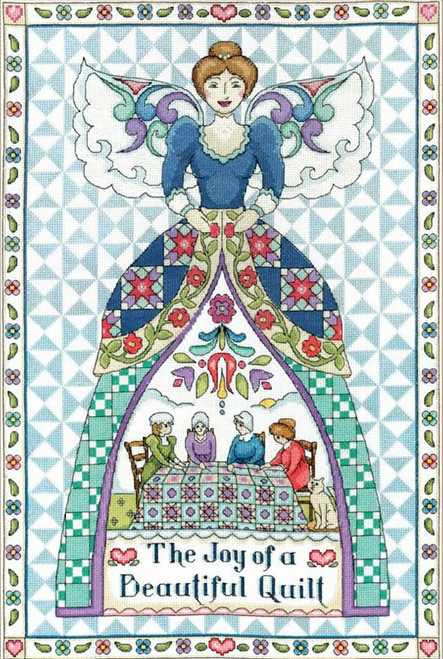 Design Works / Jim Shore - Quilting Angel
