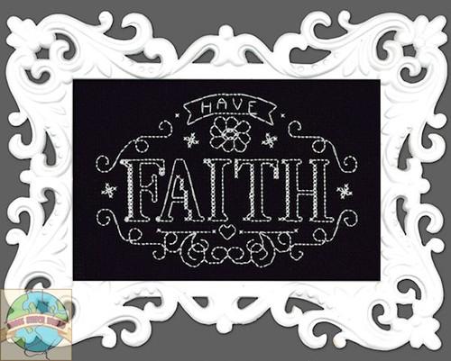 Design Works - Have Faith Chalkboard w/Frame