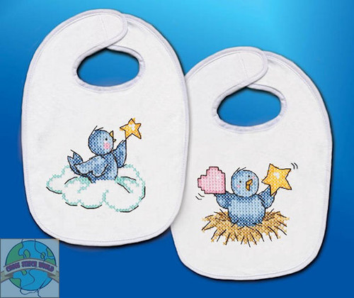 Design Works - Balloon Ride Bibs (2)