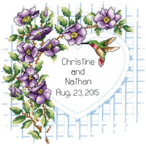 Janlynn - Garden Trellis Wedding Announcement