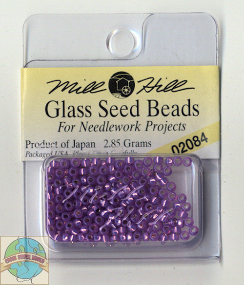 Mill Hill Glass Seed Beads 2.85g Shimmering Lilac