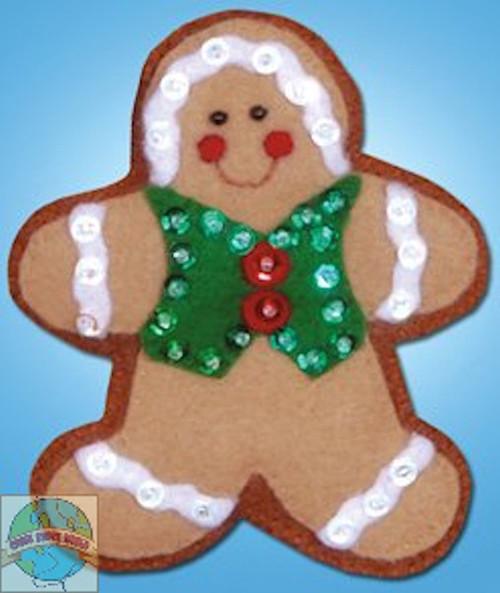 Design Works - Gingerbread Man Ornament