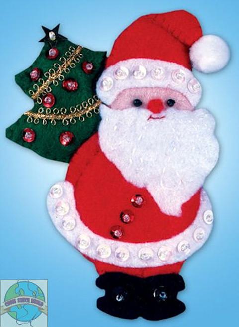 Design Works - Santa and Tree Ornament