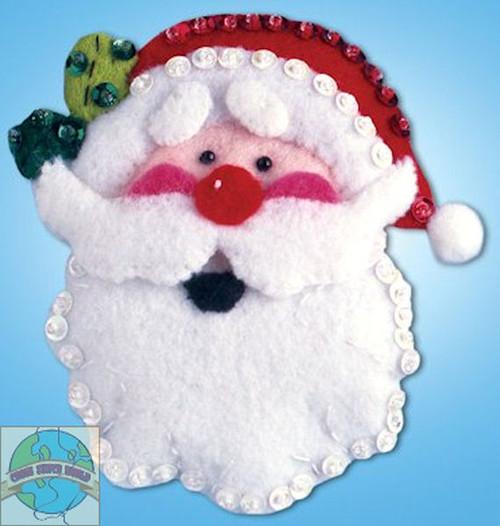 Design Works - Santa Face Ornament