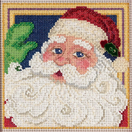 Mill Hill Buttons & Beads - Jolly St. Nick