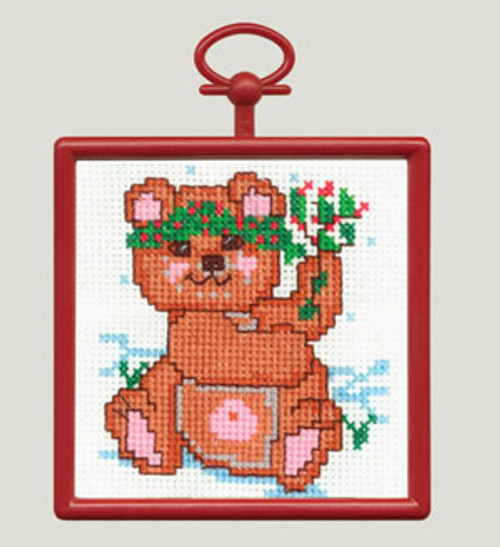 <font size=3>Candamar Mini - Mistletoe Bear