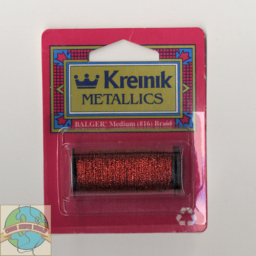 Kreinik Metallics - Medium #16 Red 003